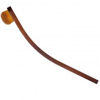 Lidschattenpinsel / Blender / Concealerpinsel / Oval Brush oval (Kunstfaser)